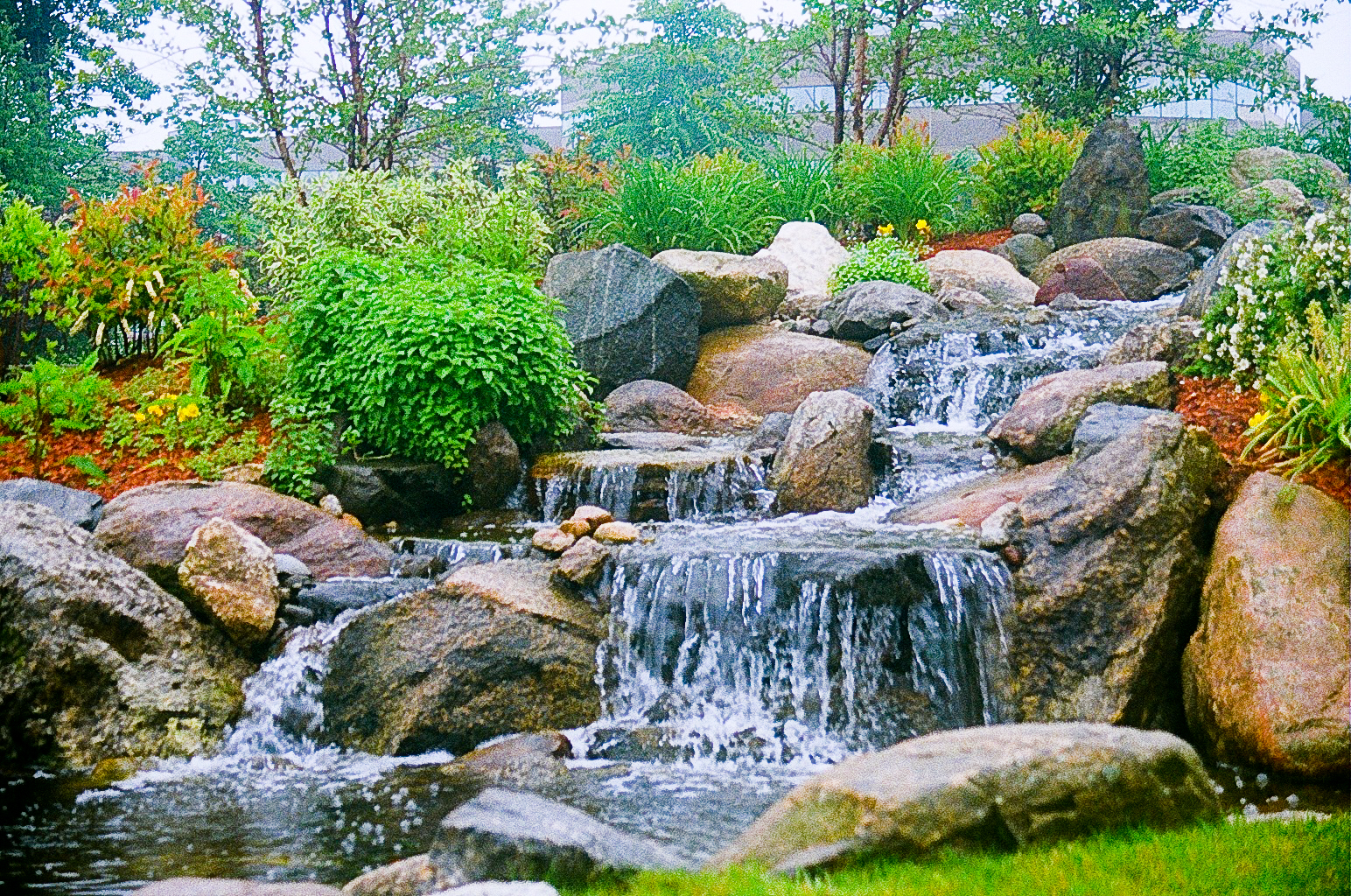 Garden water features services in brisbane queensland au for Landscape design pictures